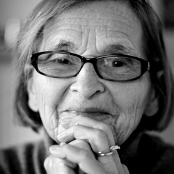 Portret - Mijn oma