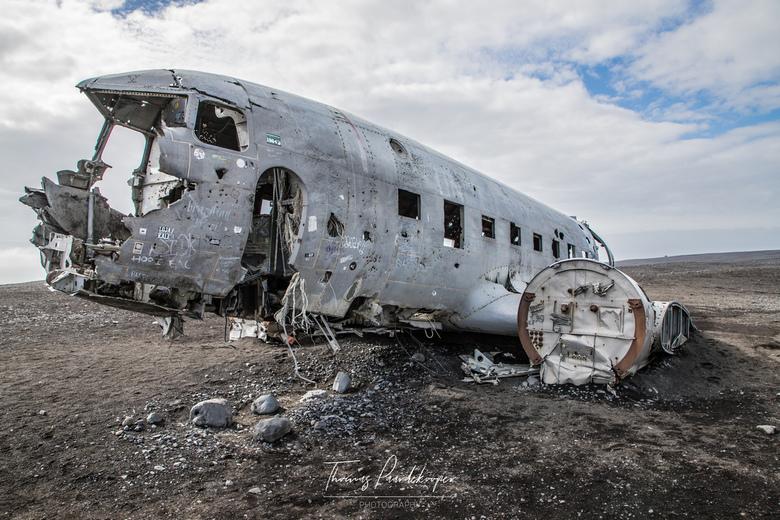 Crashed DC 3 -