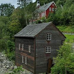 Ulvik Noorwegen.