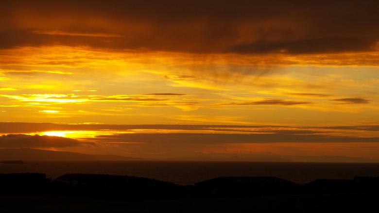 zonsondergang noord ierland -  zonsondergang N Ierland