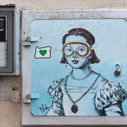Street Art in Lucca Italie