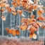 Autumn leaf decor