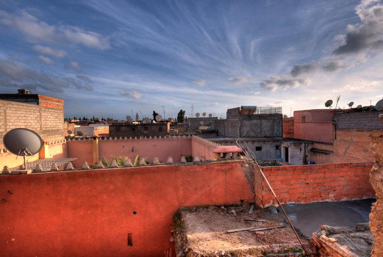 Panoramic view - Dakterras in Marrakech