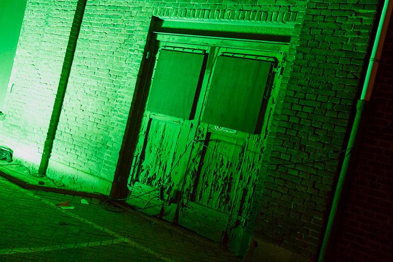 Deur - Deur op NRE terrein tijdens Glow