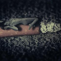 'Burnout'- selfportrait