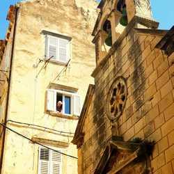 April 2018 Dubrovnik Kroatië