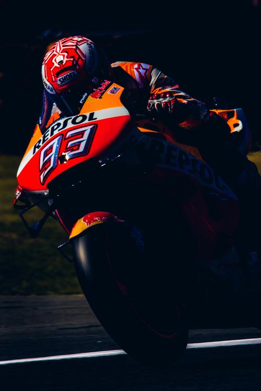 marc marquez tijdens de TT Assen - Marc Marquez tijdens de TT Assen