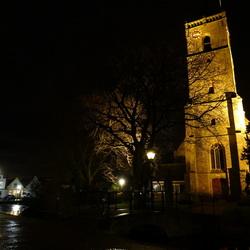 Dirksland by night