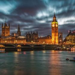 Westminster bridge en de Big Ben
