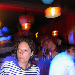 Slow shutter in a bar