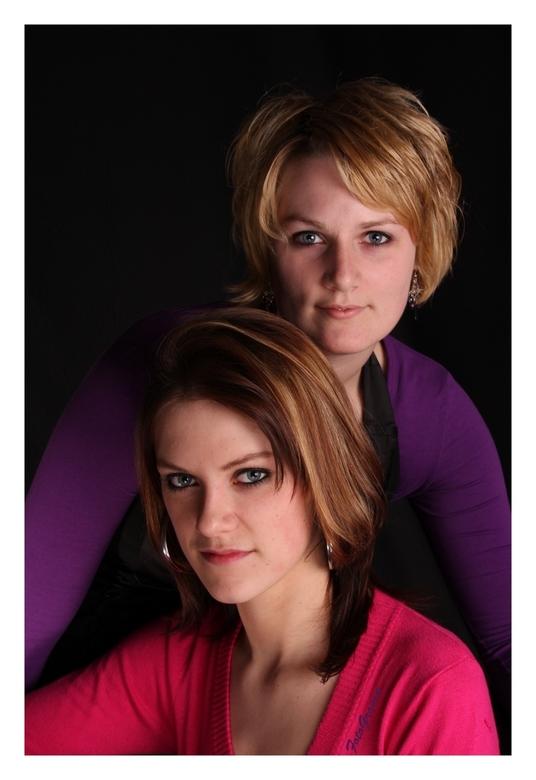 Bernke en Marieke - Nog eentje uit de serie met Marieke, alleen deze is samen zoals je ziet met Bernke.