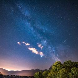 De Melkweg en Perseiden