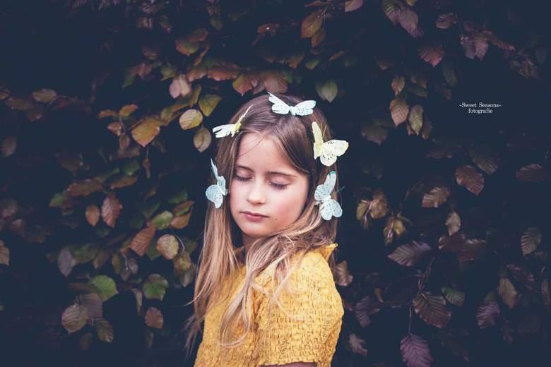 Butterfly girl -
