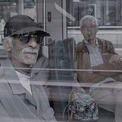 Mensen in de tram
