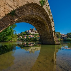 Pont Vieux te Beziers