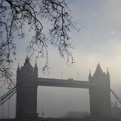 Londen in de winter