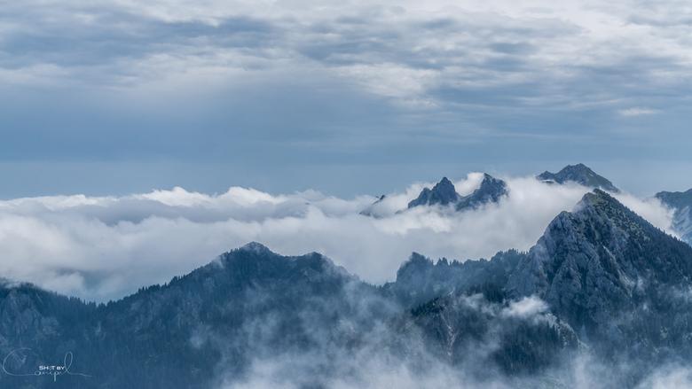 Peak view - Geweldige beklimming van de Säuling in Reutte. Vooral het laatste uur van de beklimming is een spectaculaire ervaring met prachtige vergez