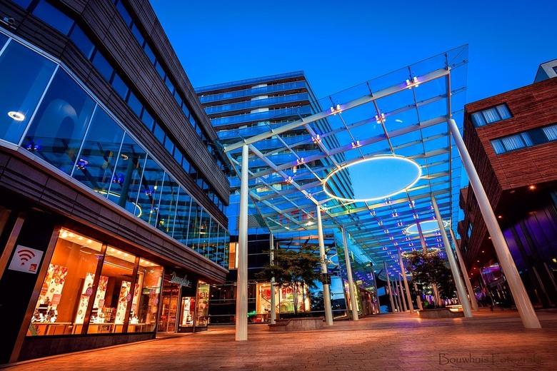 Blue Almere - Het blauwe uurtje in Almere Centrum...