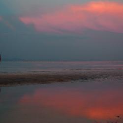 zonsondergang op Phi Phi Don