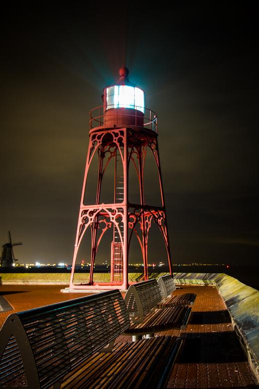 Havenlicht Vlissingen - Het havenlicht van Vlissingen dateert uit 1891 en werkt nog altijd.