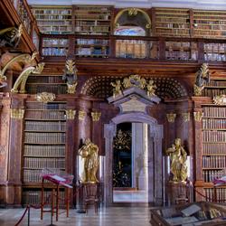 Stift Melk bibliotheek