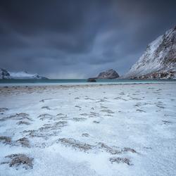 Strand Vestvågøy Noorwegen