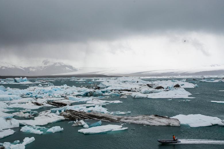 Jokulsarlon - IJsmeer in IJsland