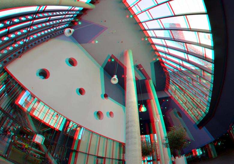 Scheepmakerspassage Rotterdam 3D Fish-eye - Scheepmakerspassage Rotterdam 3D Fish-eye 8mm<br /> Rokinon D7000 cha-cha