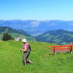 panorama Markbachjoch