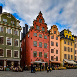 Houses in full color