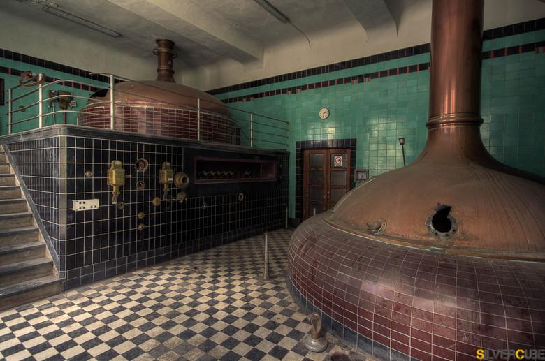 De brouwerij  - Al een ruime tijd is deze brouwerij gesloten, toch blijft het een plaatje om te fotograferen!