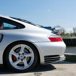 Achterzijde Porsche 993 911 turbo