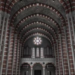 verlaten klooster kapel