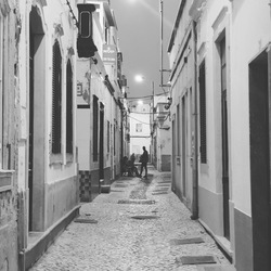 Portugal Olhao streets