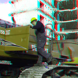 Sloop Terraced-tower Boompjes Rotterdam 3D