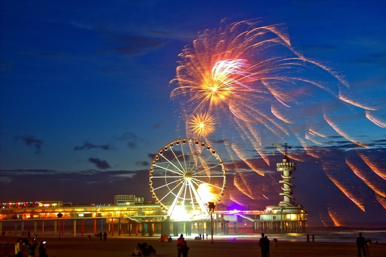 internationaal vuurwerk festival Scheveningen 2016