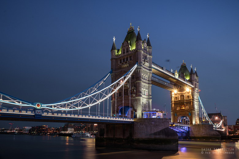 Tower bridge on blue hour - Tower bridge in blue hour, London, United kingdom