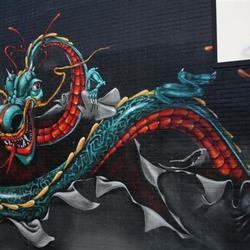 Graffiti en basket