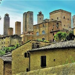 san Giminano Italie