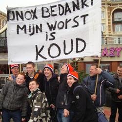 Nieuwjaarsduik 2012 Scheveningen