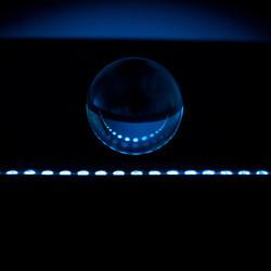 bal donkerblauw