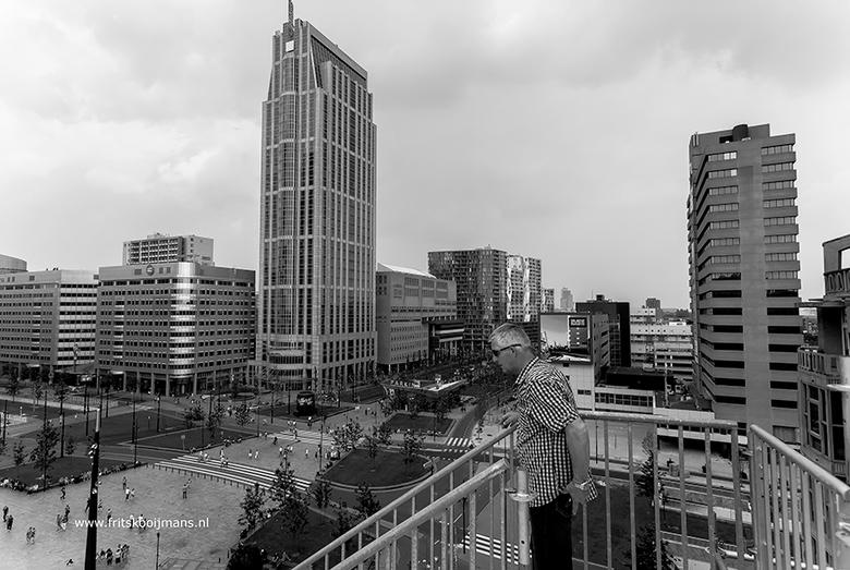 Uitzicht over vanaf Groothandelsgebouw in Rotterdam - 20160604 2629 Uitzicht over vanaf Groothandelsgebouw in Rotterdam