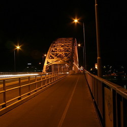 Nijmegen by night...