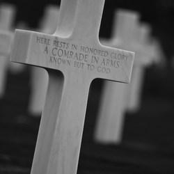 Amerikaanse begraafplaats nabij Omaha Beach