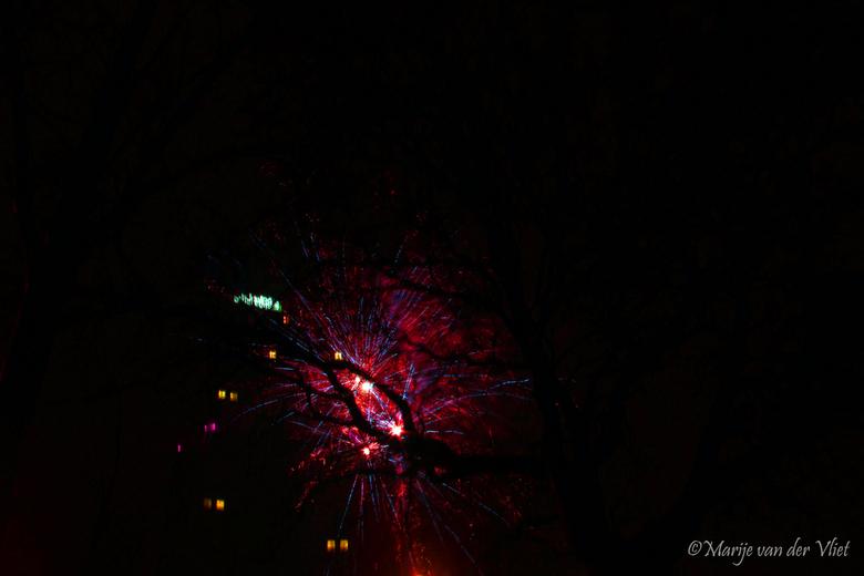 Fireworks - Vuurwerk bij Rotterdam Kop van Zuid