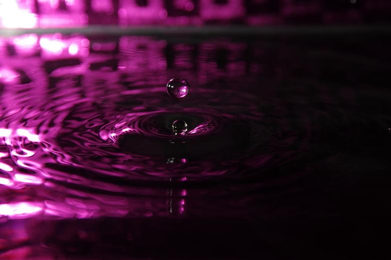 Roze druppel