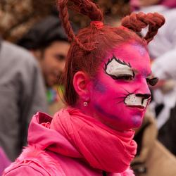 Carnaval: den  Opstoet: portret