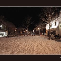 Sfeervol in de sneeuw.....