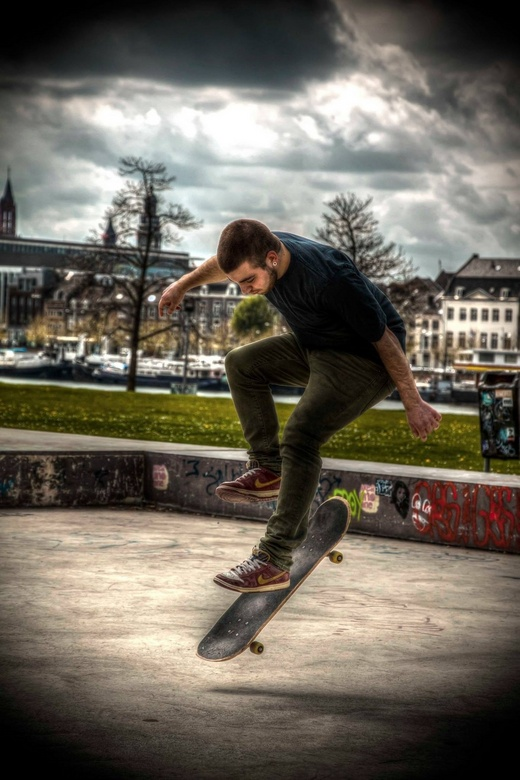 Skater@ de Griend Maastricht - Skater
