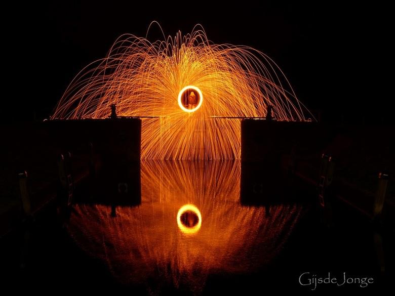 Burning reflections